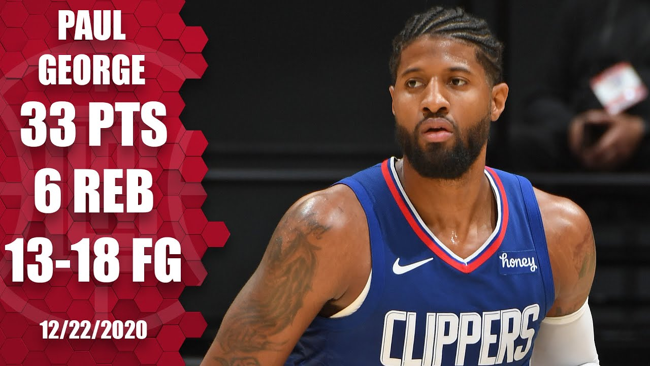 Paul George leads Clippers with 33 points vs. Lakers ...