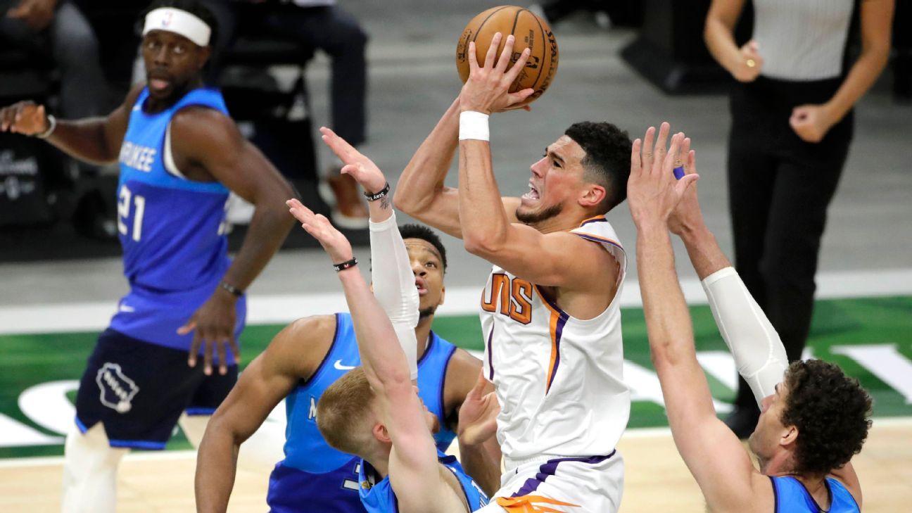 NBA Finals 2021 - Experts' predictions for Phoenix Suns ...