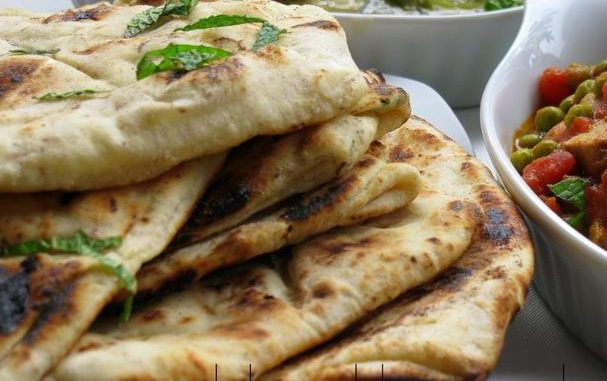 Mint, Fennel and Garlic Naan