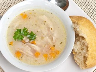 Light and Chunky Chicken Soup