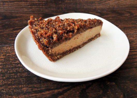 Vegan Peanut Butter Chocolate Cheesecake