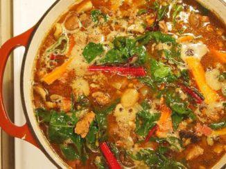 Hearty Meaty Fall Soup