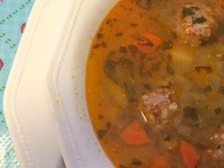 Ciorba de Perisoare – Romanina Meatball Sour Soup