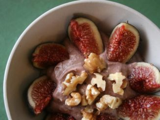 Fig and Walnut Pudding