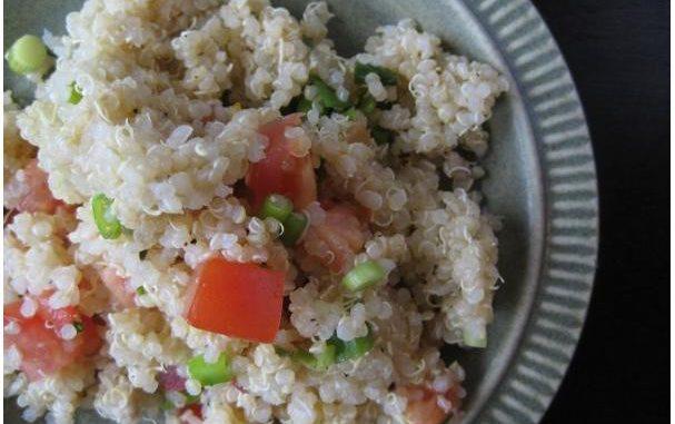 Quinoa, Tomato, Green Onion Side Salad