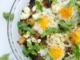 Mushroom Goat Cheese Baked Eggs