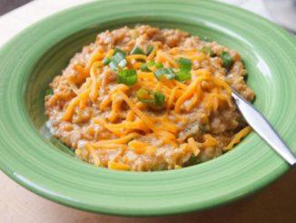 Healthy Southwestern Oatmeal