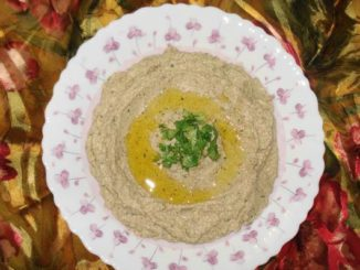 Baba Gonoush (Egyptian Dish)