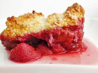 Strawberry Shortcake Cobbler