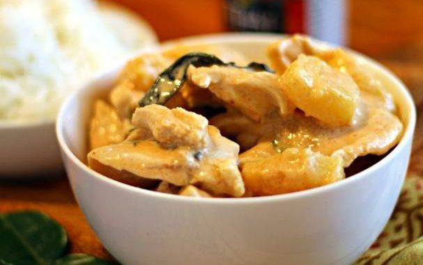 Tropical Thai Chicken Curry