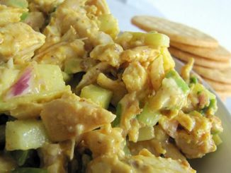 Fragrant Curried Chicken Salad