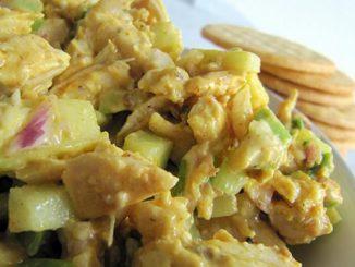 Fragrant Curried Chicken Salad