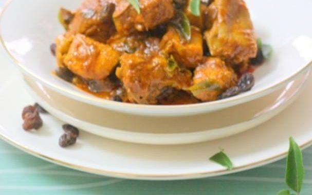 Masala Raisin Chicken