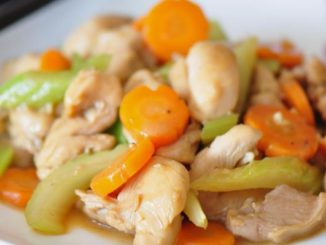Celery & Carrot Chicken Stir-Fry