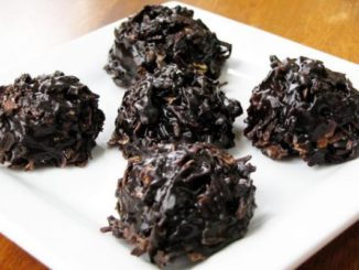 Xocai Oatmeal Dark Chocolate No-Bake Cookies