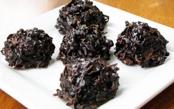 Xocai Oatmeal Dark Chocolate No-Bake Cookies