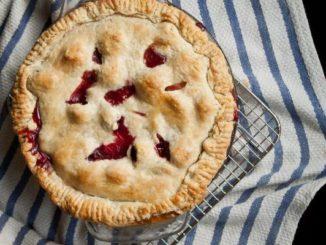 Blackberry Peach Pie