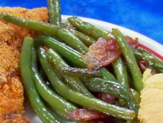 Healthier Southern-Style Green Beans