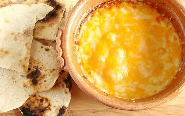 Oven-Baked Feta Cheese Dip