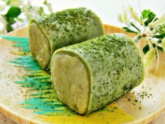 Sweet Potato Green Tea Pancake Roll