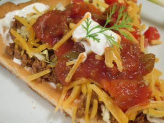 Mexican Fiesta Salad Pizza