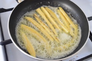 fry plantain in butter