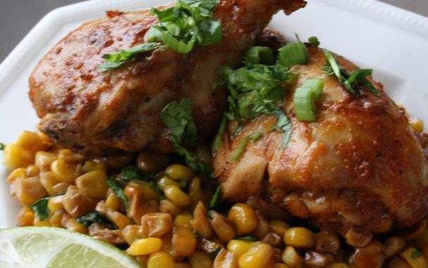 Cumin and Paprika Rubbed Chicken Drumsticks