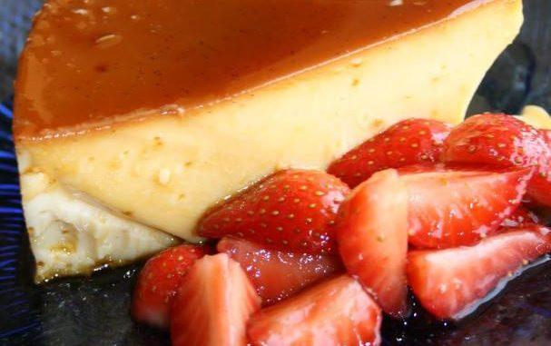 Vanilla and Lime Flan By Esperanza Platas Alvarez (Planet Food Mexico)