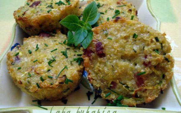 Mini frittatas with quinoa