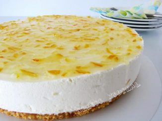 Korean Honey Citron Tea Cheesecake