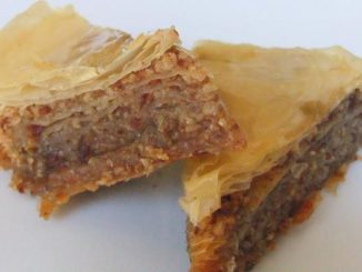 "Honeyed Bacon"" Baklava"