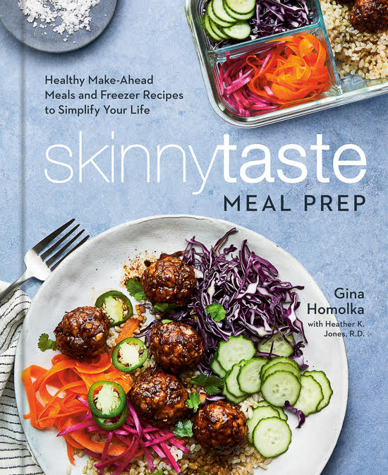 Cover image for the Skinnytaste meal prep cookbook