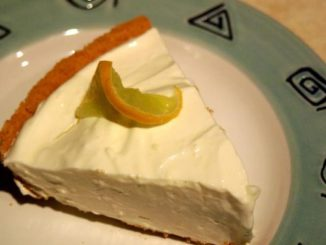 Keylime Cheesecake Pie