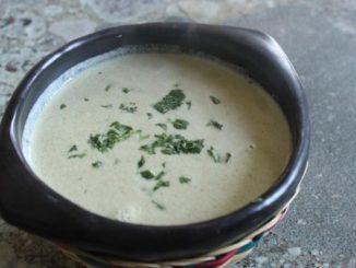 Warm Cucumber Soup (Sopa De Pepinos)