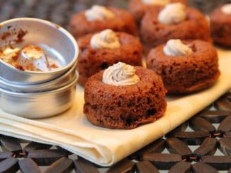Mini Bournvita Bundt Cakes
