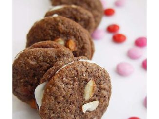 Insanely Chocolaty Chewable Sandwich Cookies