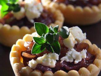 Onion Jam Tartlets