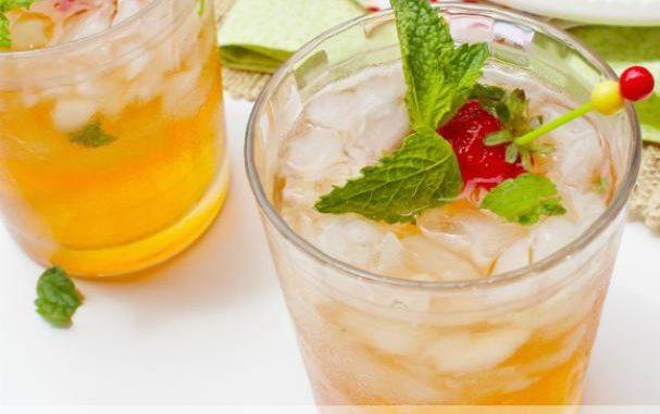 Mango Black Tea Skinny Cocktail