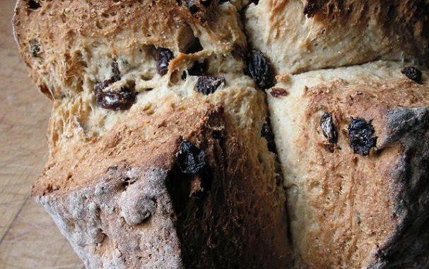 Irish Soda Bread with Raisins