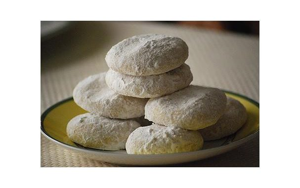 Lemon Powder Cookies