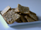 Whole-wheat Flaxseed and Fennel Crackers