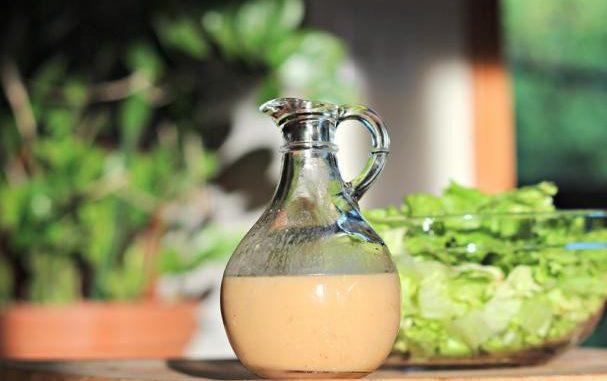 Creamy Honey Mustard Vinaigrette