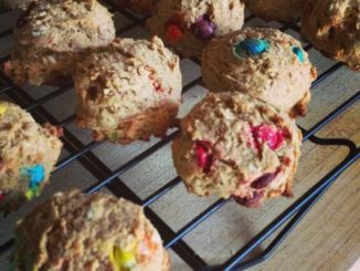 A Healthier Cookie with Mini M&Ms