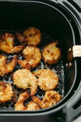 Shrimp in the air fryer.